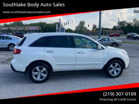 2011 Acura MDX for sale at Southlake Body Auto Sales in Merrillville IN