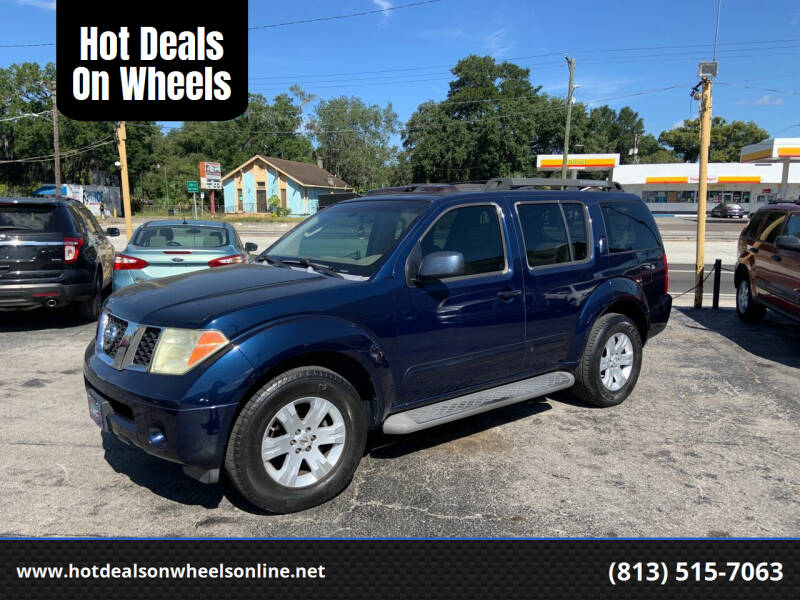 2006 Nissan Pathfinder for sale at Hot Deals On Wheels in Tampa FL
