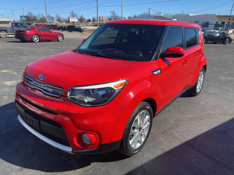 2017 Kia Soul for sale at Kasterke Auto Mart Inc in Shawnee OK