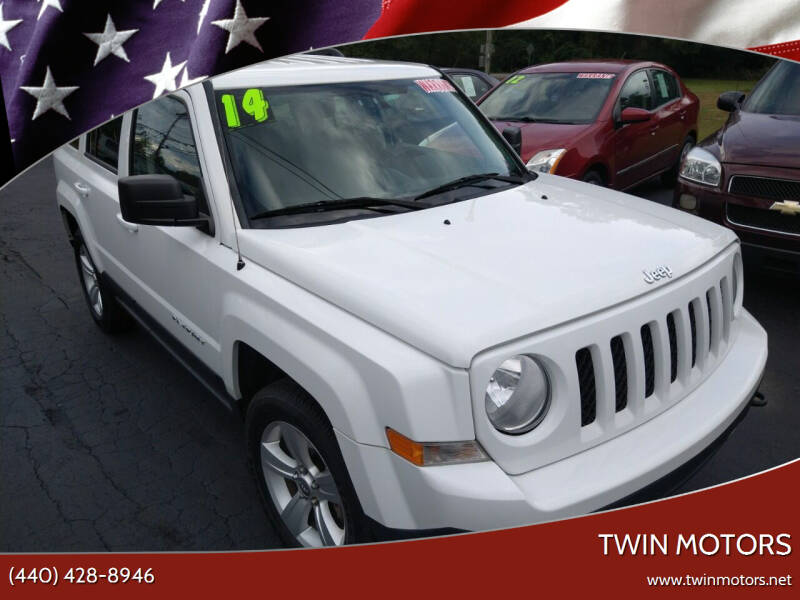 2014 Jeep Patriot for sale at TWIN MOTORS in Madison OH