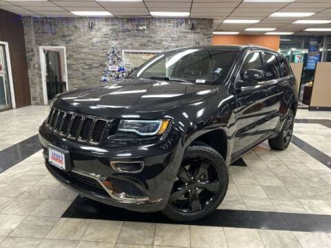 2016 Jeep Grand Cherokee for sale at Sonias Auto Sales in Worcester MA