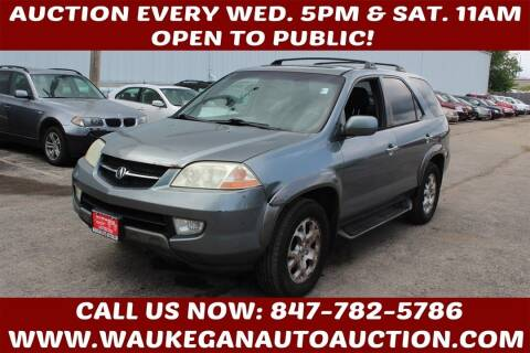 2001 Acura MDX for sale at Waukegan Auto Auction in Waukegan IL