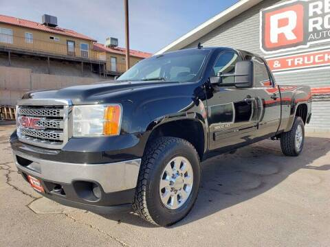 2014 GMC Sierra 3500HD for sale at Red Rock Auto Sales in Saint George UT
