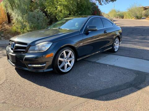 2012 Mercedes-Benz C-Class for sale at BUY RIGHT AUTO SALES in Phoenix AZ
