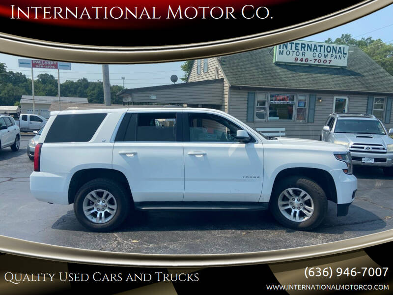2016 Chevrolet Tahoe for sale at International Motor Co. in Saint Charles MO