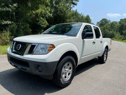 2016 Nissan Frontier for sale at Carrera AutoHaus Inc in Clayton NC