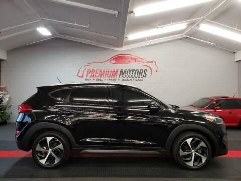 2016 Hyundai Tucson for sale at Premium Motors in Villa Park IL