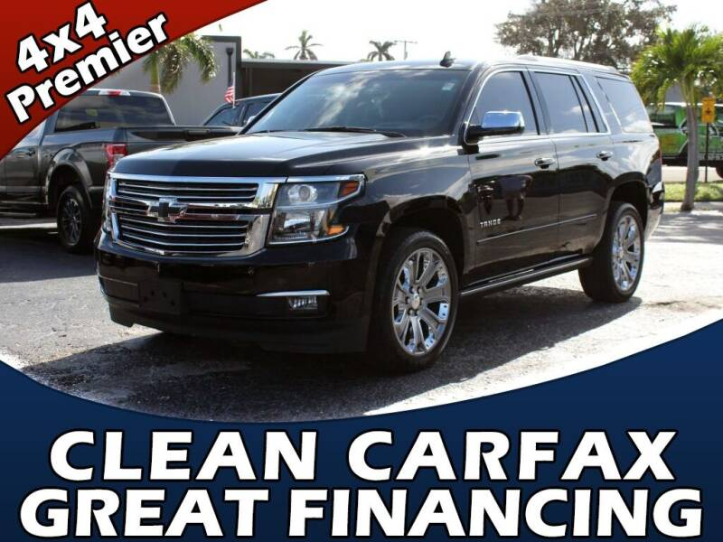 2017 Chevrolet Tahoe for sale at Palm Beach Auto Wholesale in Lake Park FL