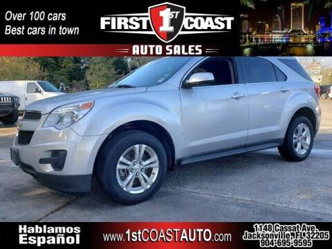 2012 Chevrolet Equinox for sale at 1st Coast Auto -Cassat Avenue in Jacksonville FL