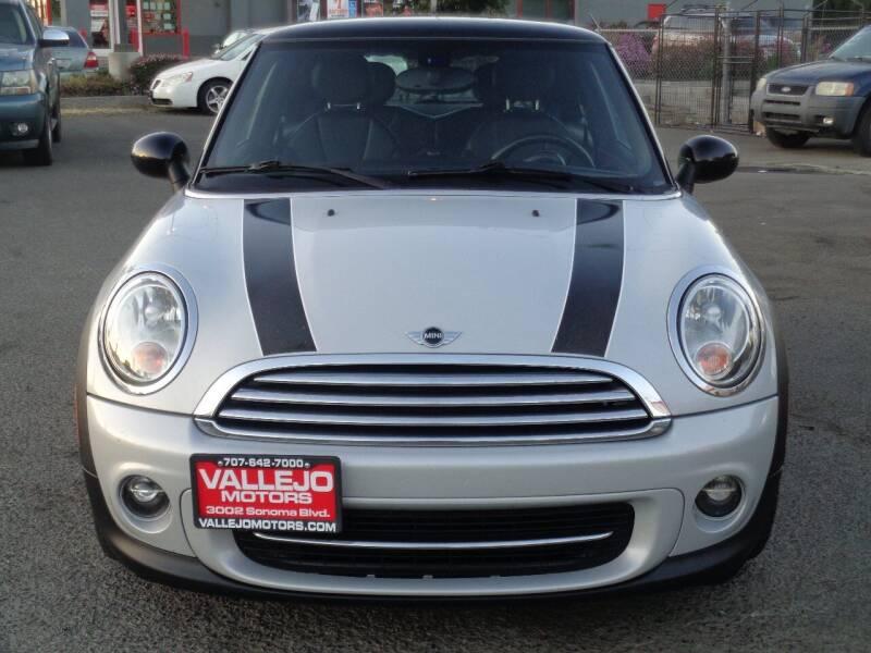 2013 MINI Hardtop for sale at Vallejo Motors in Vallejo CA