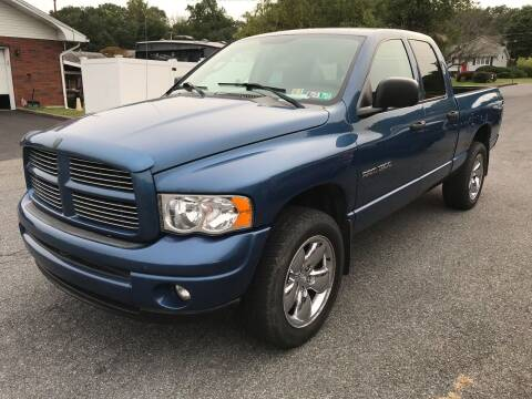 2003 Dodge Ram Pickup 1500 for sale at TNT Auto Sales in Bangor PA