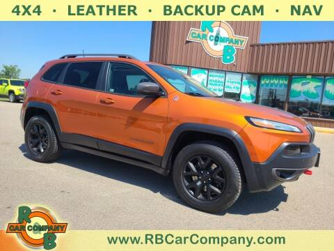 2016 Jeep Cherokee for sale at R & B Car Co in Warsaw IN