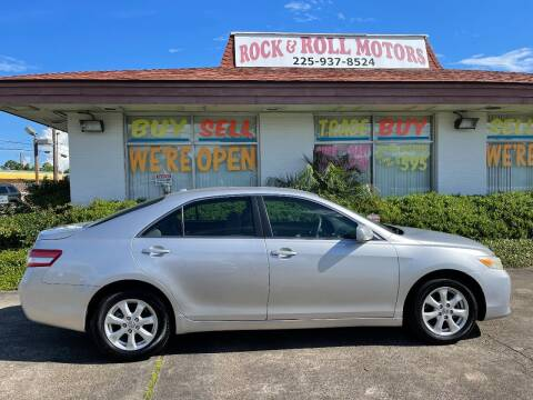2011 Toyota Camry for sale at Rock & Roll Motors in Baton Rouge LA