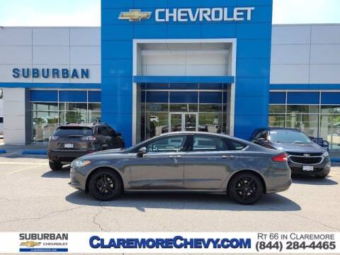 2018 Ford Fusion Hybrid for sale at Suburban Chevrolet in Claremore OK