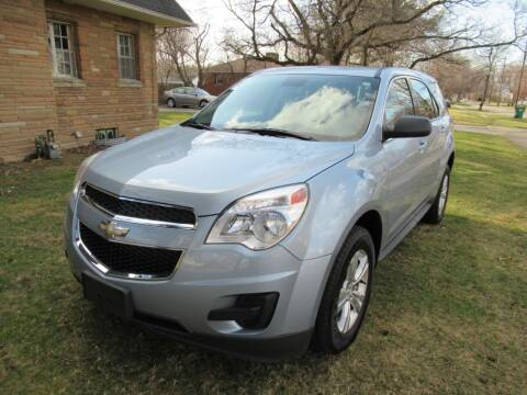 2015 Chevrolet Equinox for sale at Lake County Auto Sales in Painesville OH