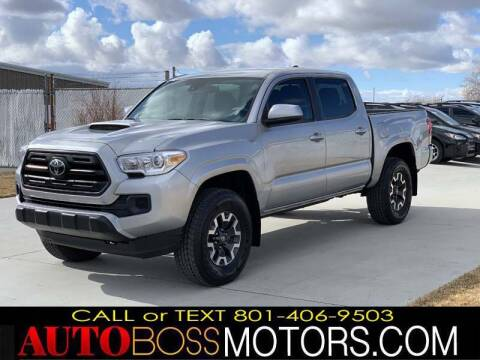 2018 Toyota Tacoma for sale at Auto Boss in Woodscross UT