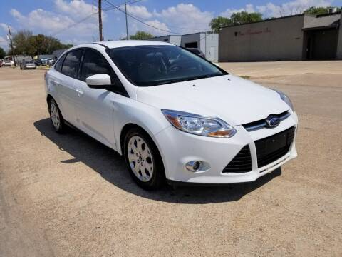 2012 Ford Focus for sale at Image Auto Sales in Dallas TX