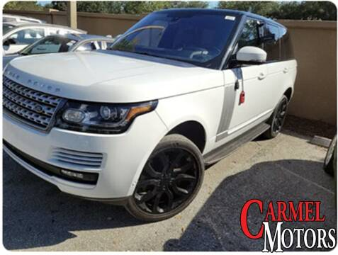 2016 Land Rover Range Rover for sale at Carmel Motors in Indianapolis IN