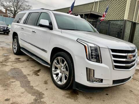 2017 Cadillac Escalade ESV for sale at Gus's Used Auto Sales in Detroit MI