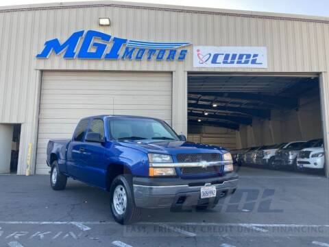 2004 Chevrolet Silverado 1500 for sale at MGI Motors in Sacramento CA