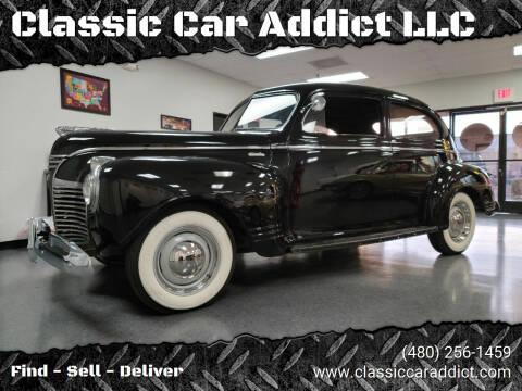 1941 Plymouth Sedan for sale at Classic Car Addict in Mesa AZ