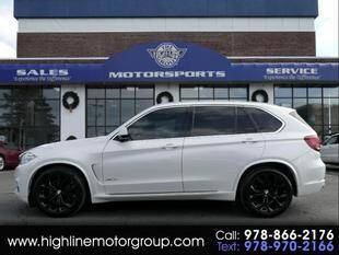 2016 BMW X5 for sale at Highline Group Motorsports in Lowell MA