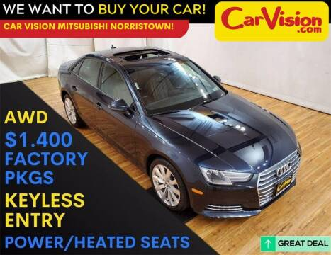 2017 Audi A4 for sale at Car Vision Mitsubishi Norristown in Trooper PA
