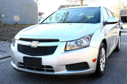 2011 Chevrolet Cruze for sale at Prime Auto Sales LLC in Virginia Beach VA