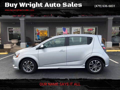 2017 Chevrolet Sonic for sale at Buy Wright Auto Sales in Rogers AR
