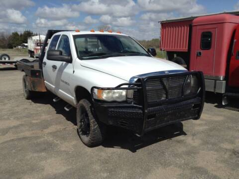 2004 Dodge Ram Pickup 3500 for sale at Melton Chevrolet in Belleville KS
