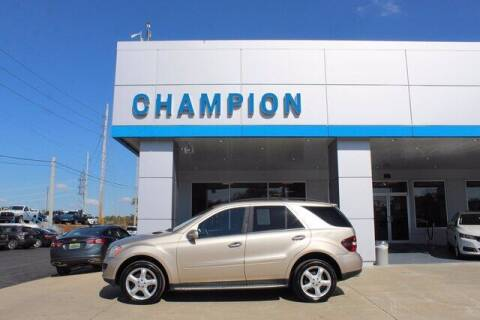 2007 Mercedes-Benz M-Class for sale at Champion Chevrolet in Athens AL