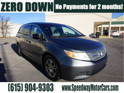 2013 Honda Odyssey for sale at Speedway Motors in Murfreesboro TN