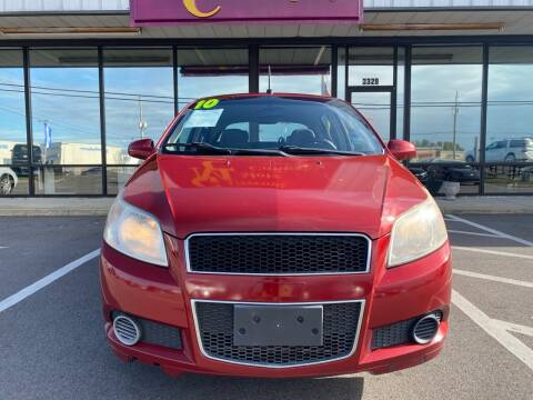 2010 Chevrolet Aveo for sale at Greenville Motor Company in Greenville NC