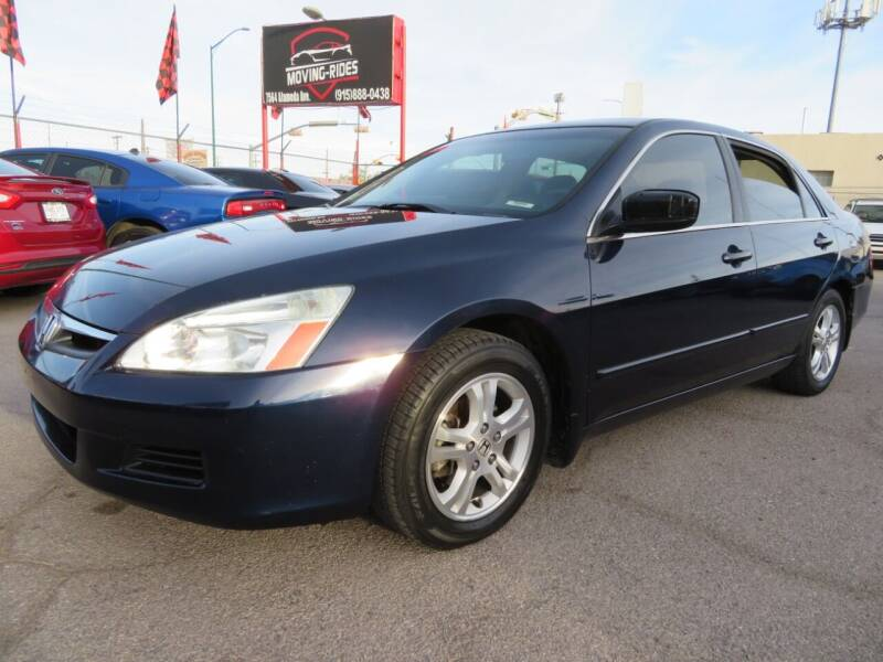 2007 Honda Accord for sale at Moving Rides in El Paso TX