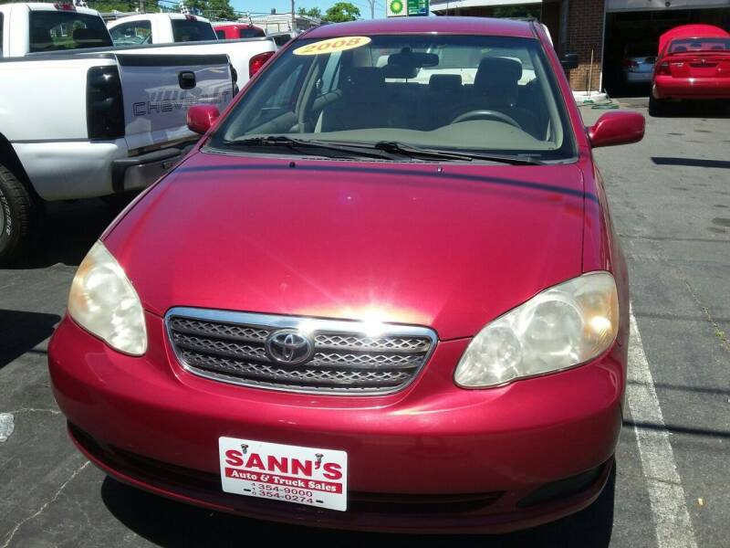 2008 Toyota Corolla for sale at Sann's Auto Sales in Baltimore MD