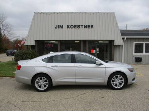 2014 Chevrolet Impala for sale at JIM KOESTNER INC in Plainwell MI