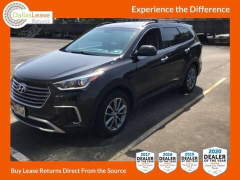 2017 Hyundai Santa Fe for sale at Dallas Auto Finance in Dallas TX