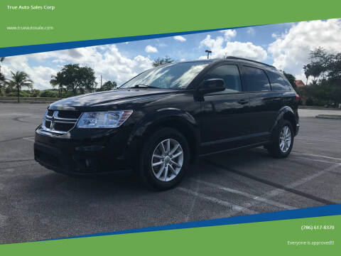 2015 Dodge Journey for sale at True Auto Sales Corp in Miami FL