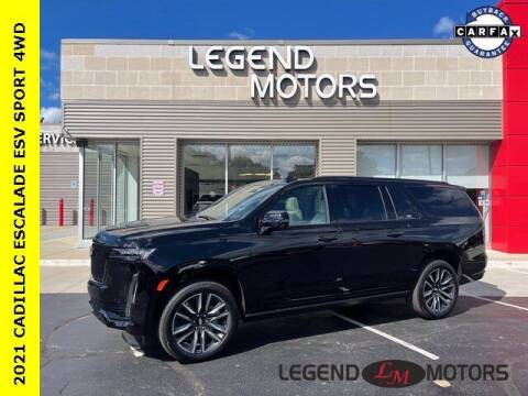 2021 Cadillac Escalade ESV for sale at Legend Motors of Waterford in Waterford MI