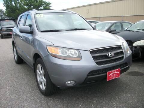 2007 Hyundai Santa Fe for sale at Lloyds Auto Sales & SVC in Sanford ME