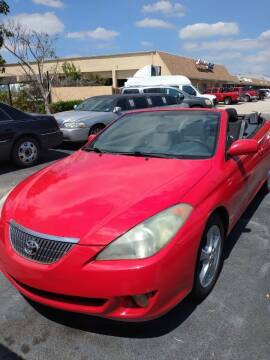 2006 Toyota Camry Solara for sale at LAND & SEA BROKERS INC in Deerfield FL