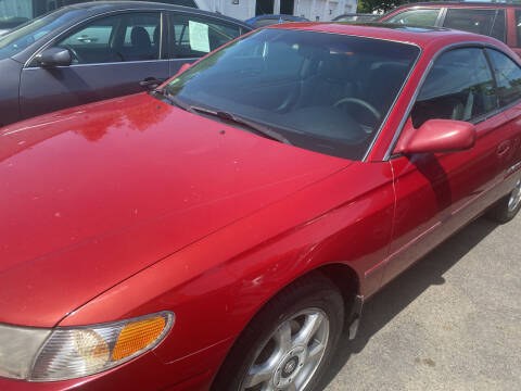 1999 Toyota Camry Solara for sale at Whiting Motors in Plainville CT