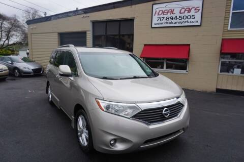 2012 Nissan Quest for sale at I-Deal Cars LLC in York PA