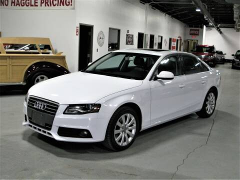 2012 Audi A4 for sale at The Car Vault in Holliston MA