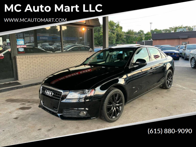 2009 Audi A4 for sale at MC Auto Mart LLC in Hermitage TN