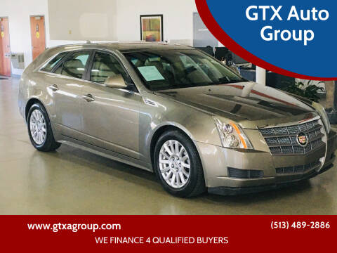 2010 Cadillac CTS for sale at GTX Auto Group in West Chester OH