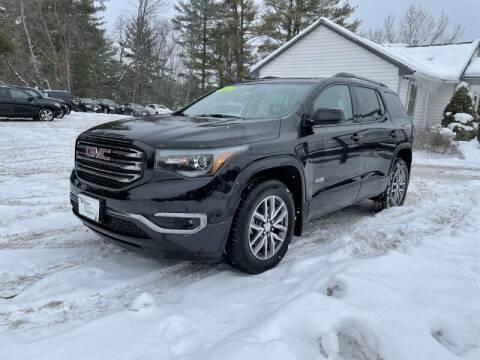 2018 GMC Acadia for sale at Williston Economy Motors in Williston VT