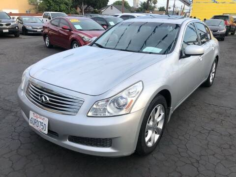 2007 Infiniti G35 for sale at Plaza Auto Sales in Los Angeles CA