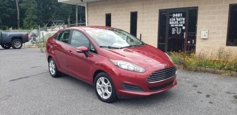 2015 Ford Fiesta for sale at 220 Auto Sales LLC in Madison NC
