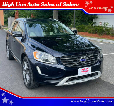 2017 Volvo XC60 for sale at High Line Auto Sales of Salem in Salem NH